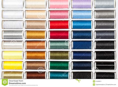 how many different colors are used to achieve lisa rinnas hair palette sewing threads stock photo image 51283811