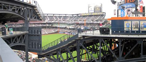 where is standing room only at citi field citi field panoramas cook sons baseball adventures