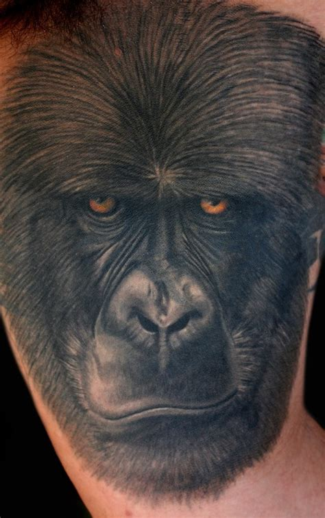 gorilla tattoo meaning the gallery for gt traditional gorilla