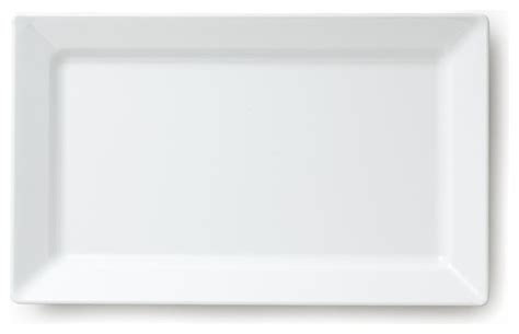 Red Shed Home Decor by Diamond White Serving Platter Rectangle Contemporary