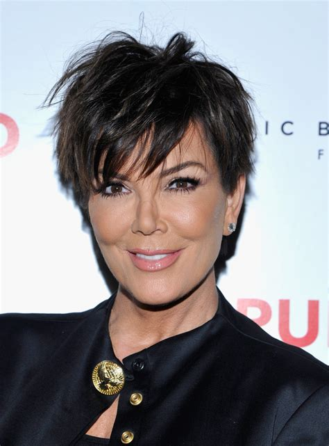 kris jenner haircut kris jenner messy cut kris jenner short hairstyles