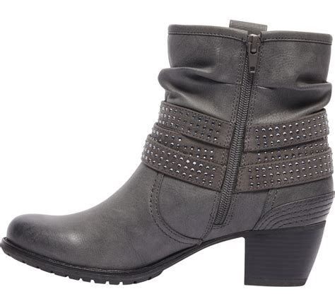 graceland grey slouch ankle boots deichmann