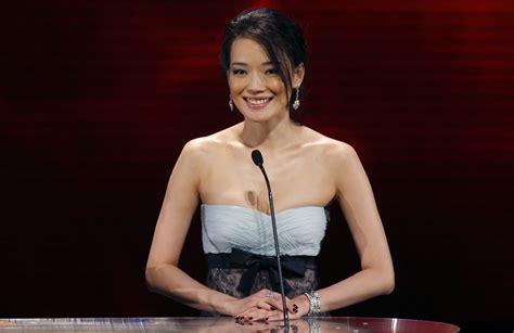 film mandarin shu qi taiwanese actress shu qi attends the 27th hong kong film