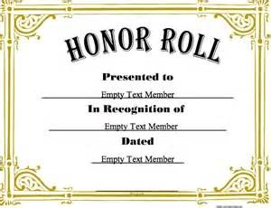 honor roll 3 183 certificate creator create and print