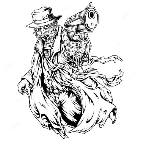Gangster Gun Tattoo Drawings