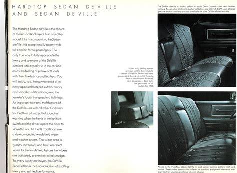Car Brochures 1968 Cadillac Brochure 1968 Cadillac 12 Jpg