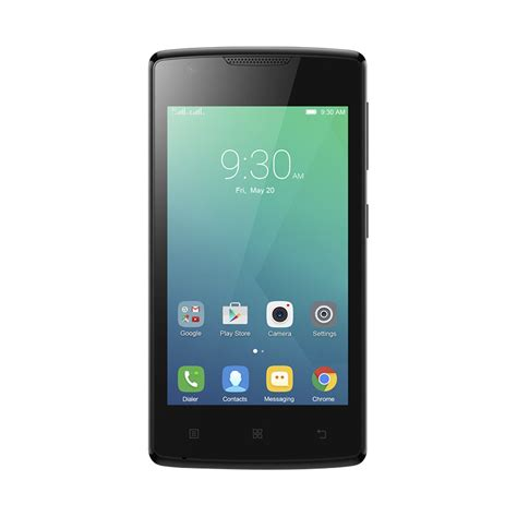 Handphone Android Lenovo Vibe jual lenovo vibe a a1000m smartphone black harga kualitas terjamin blibli