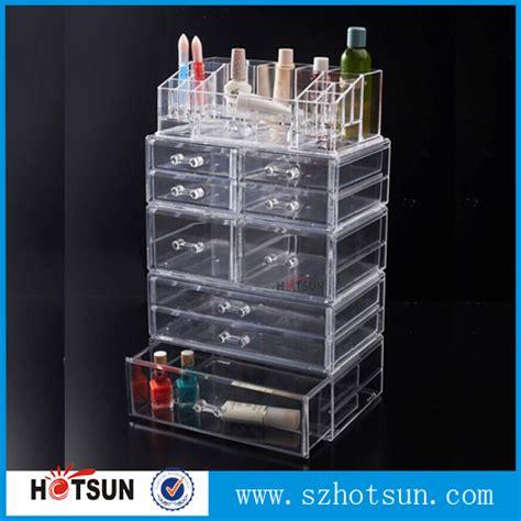 large makeup organizer jy2193 large space 6 tiers acrylic makeup organizer plastic cosmetic storage box
