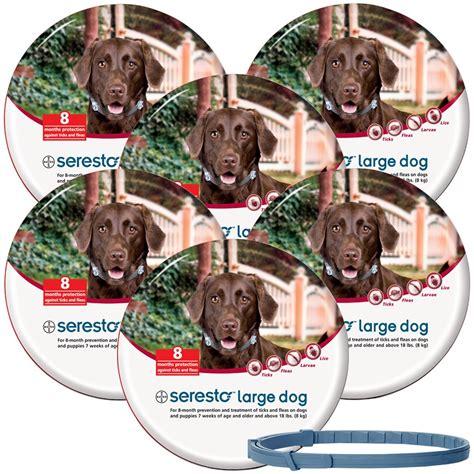 seresto flea collar for puppies 6 pack seresto flea tick collar for large dogs