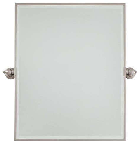 pivot bathroom mirrors minka lavery pivot mirrors xl rectangle mirror