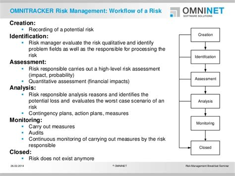 risk management workflow risk management workflow 28 images ossie org