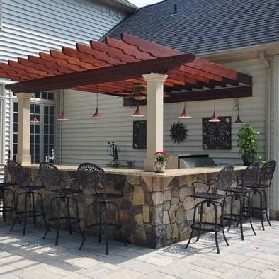 Backyard Patio Bar by Outdoor Bar Ideas Time To Take The To The Patio