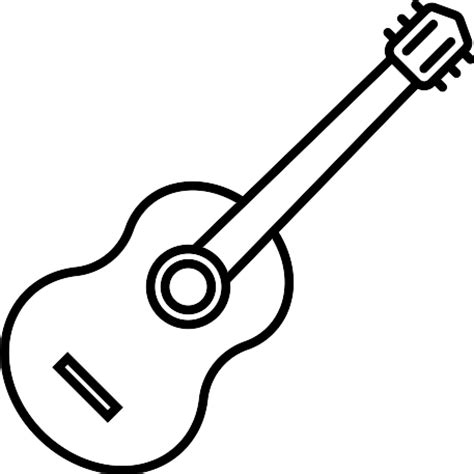 acoustic guitar svg vector