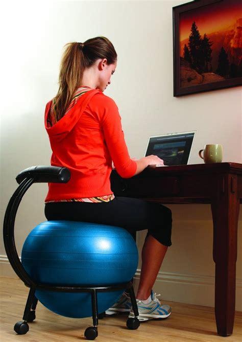 exercise ball for desk 22 best stability balls images on pinterest exercise