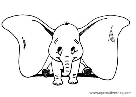 dumbo l elefantino volante dumbo l elefantino volante disney disegno da colorare