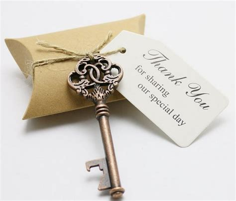 Wedding Favor Boxes Ideas by Key To My Bottle Opener Wedding Favors