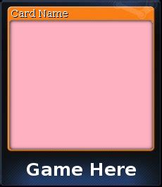 card template gimp steam trading card template gimp by sinkillerj on deviantart