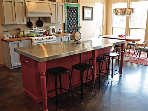 build a kitchen island with seating photo page hgtv