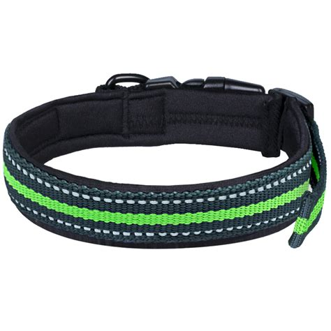 blueberry collar blueberry pet collars for classic solid striped sturdy padded collar ebay