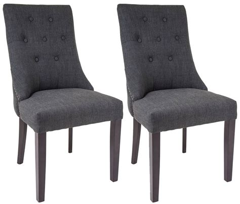 Rv Dining Chairs Rv Astley Cara Mottled Black Dining Chair Pair Of 2