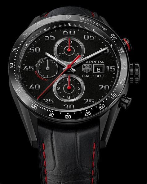 tag heuer carrera hands on review carrera calibre 1887 43mm ceramic the