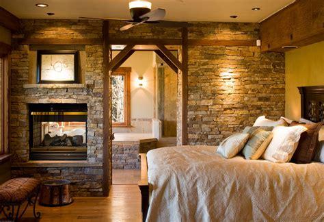Vanity Sconce Height Rustic Master Bedroom With Wood Bedframe By Kogan Builders
