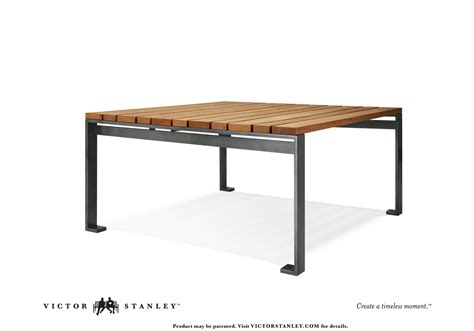 Side Bar Table by Table Victor Stanley Site Furniture