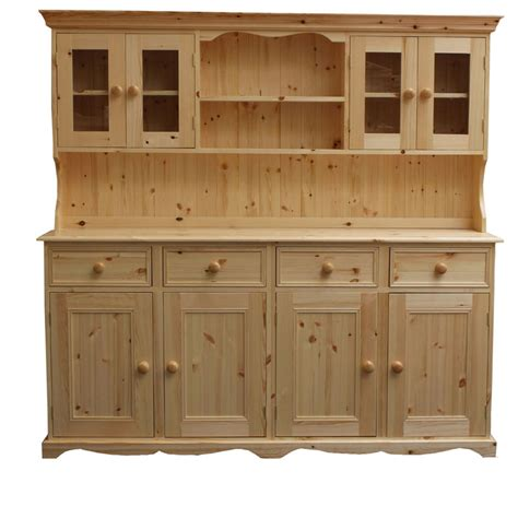 traditional kitchen dressers 6ft traditional glazed dresser