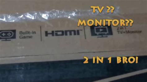 Tv Led Lg 24mt48af unboxing tv monitor lg 24mt48af