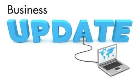how to use blogs and social media to give business updates
