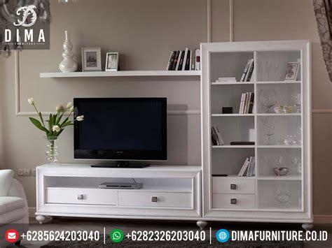Meja Tv Kecil Murah set bufet tv modern minimalis mewah duco putih terbaru