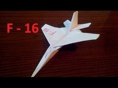 F 16 Origami - f 16 origami plane tadashi