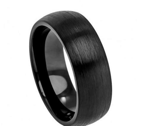 black wedding ring significance tungsten wedding rings wedding bands men s rings men s
