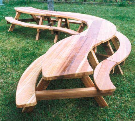 banc de picnic en bois myqto