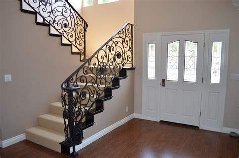 wrought iron railing rod iron railing adds perfection to every step of