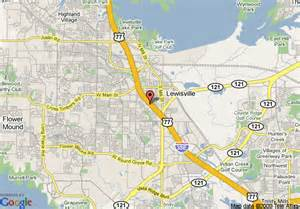 map of econo lodge inn and suites lewisville