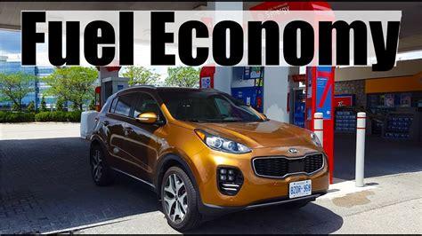 Kia Sportage Mpg by 2018 Kia Sportage Fuel Economy Mpg Review Fill Up