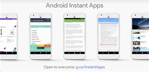 instant app android big developer announcements at i o 2017 techgenix