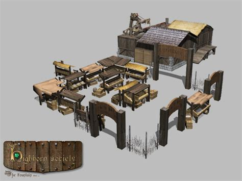 banished game fountain mod game modification banished on behance