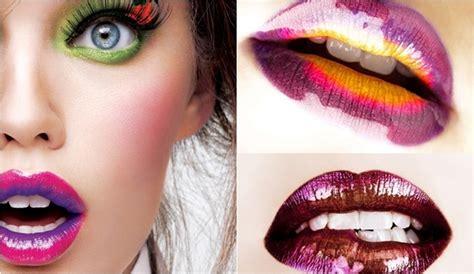 labios de colores ceade moda ideas para pintarse los labios en m 225 s de un color