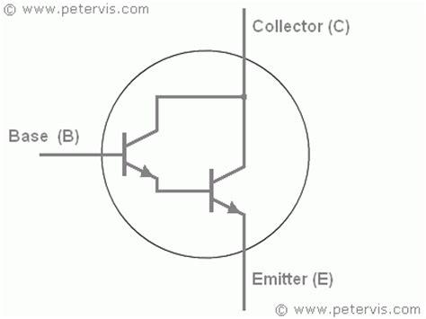 pnp resistor symbol darlington transistor symbol
