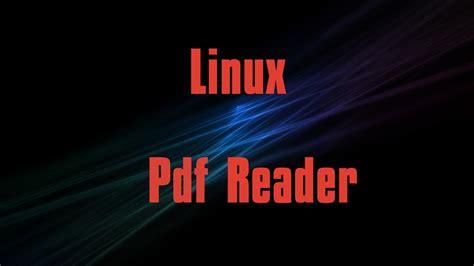 best pdf reader linux best pdf reader in linux evince 2