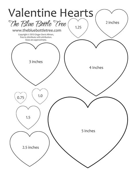 printable heart decorations 25 best ideas about heart template on pinterest