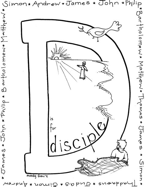 coloring pages of jesus disciples how to draw twelve disciples