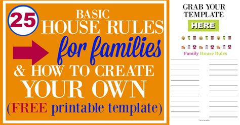 house rules design your home 25 basic house rules for families how to create your own