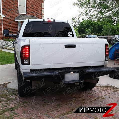 2006 dodge ram 2500 tail lights sinister black 2002 2006 dodge ram 1500 2500 3500 smoke