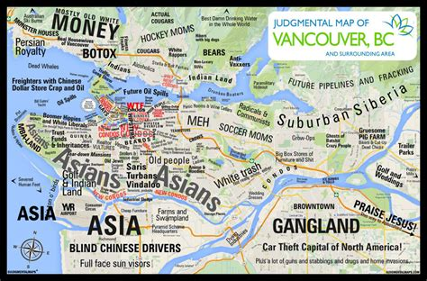 map of vancouver judgmental maps