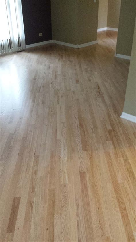 chicago red oak flooring at 45 degree angle