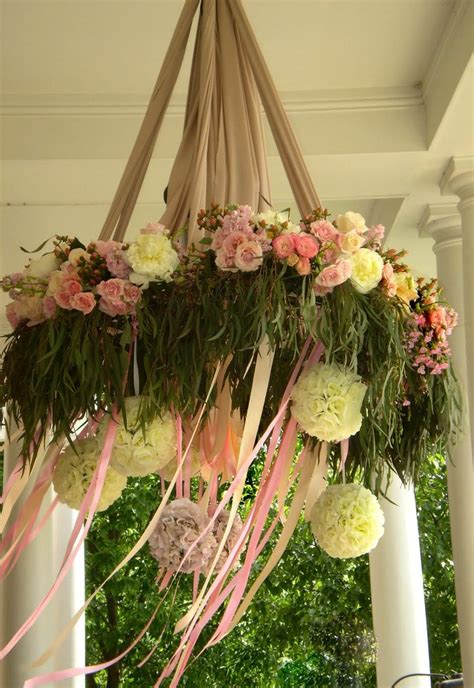 Chandelier Flowers Yellow Canary Flowers Floral Chandelier Garlands Backdrops Wreaths