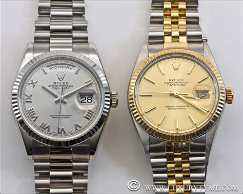 """Review of The Rolex Day Date """"Presidential""""   Luxury Tyme: The Rolex Reference Page"""